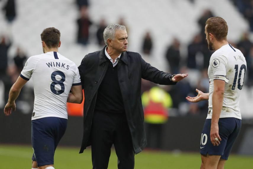 Epl 2019 20 West Ham 2 3 Tottenham Son Heung Min Lucas Moura Harry Kane Earn Jose Mourinho Debut Win