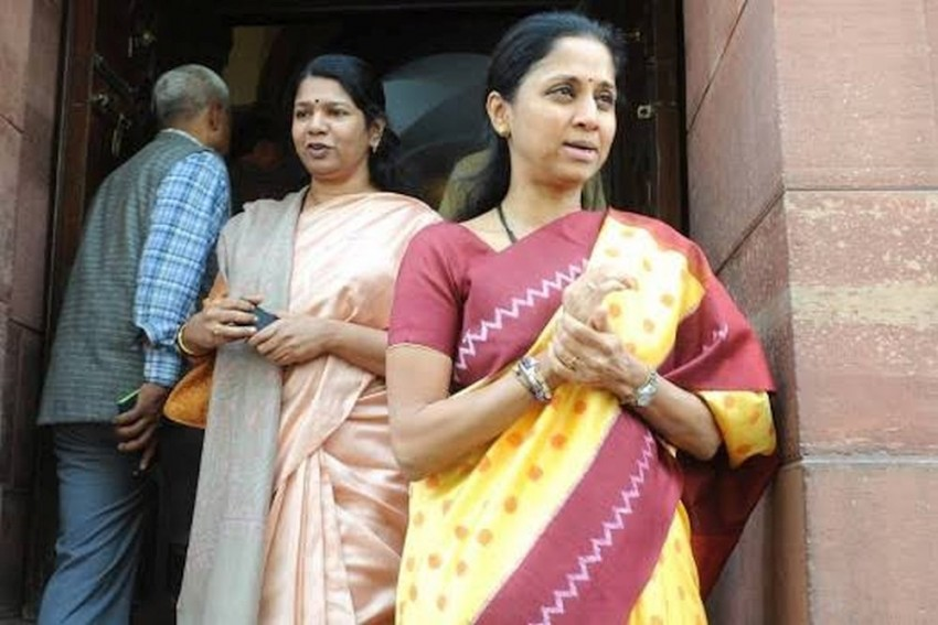 'Party and Family Splits': Supriya Sule's Whatsapp Status After Brother Ajit Pawar Joins Hands With BJP