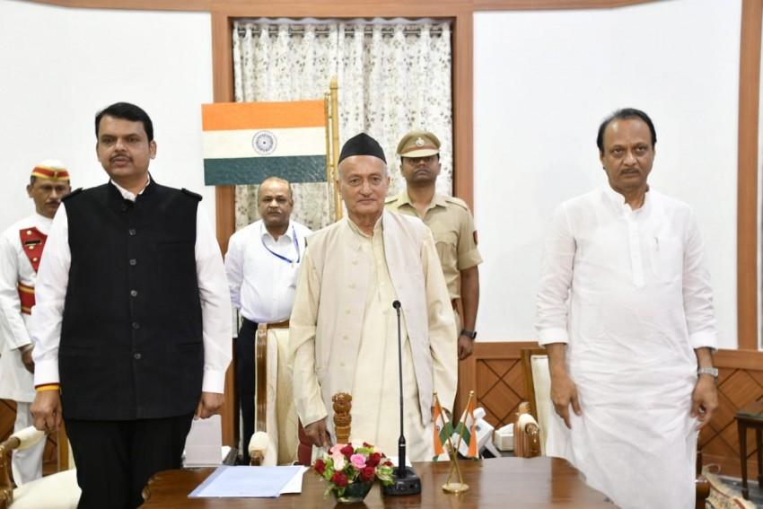 President Rule Revoked In Maharashtra At 5.47AM