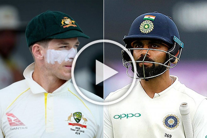 Tim Paine's Long-Distance Virat Kohli Sledge Becomes Big Talking Point On Cricket's Busy Day - VIDEO