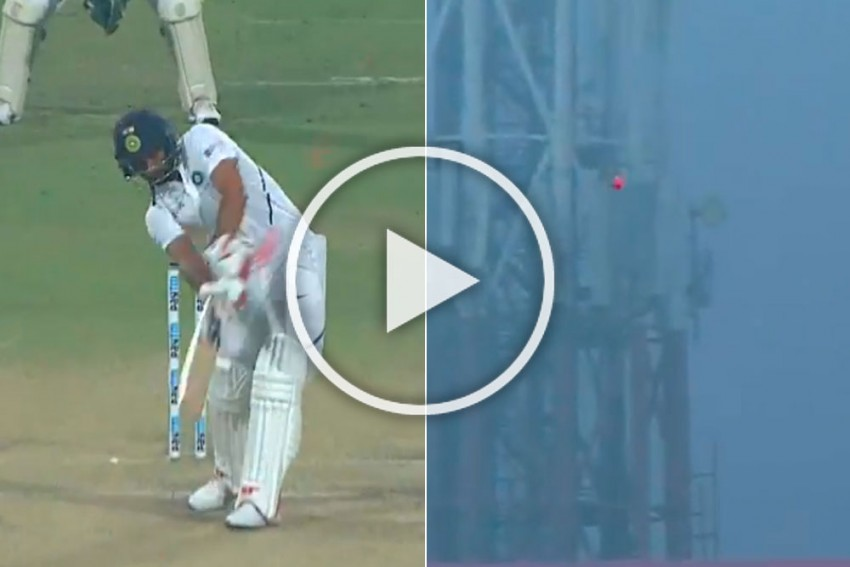 IND Vs BAN, Day-Night Test: Mohammed Shami Hits Outlandish Six To More Than Make Up For Limited Opportunity With Ball - WATCH