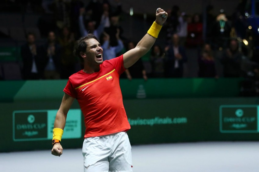Davis Cup Joy For Spain As Hosts Reach Final In Madrid Thanks To Lopez And Nadal, As Canada Await