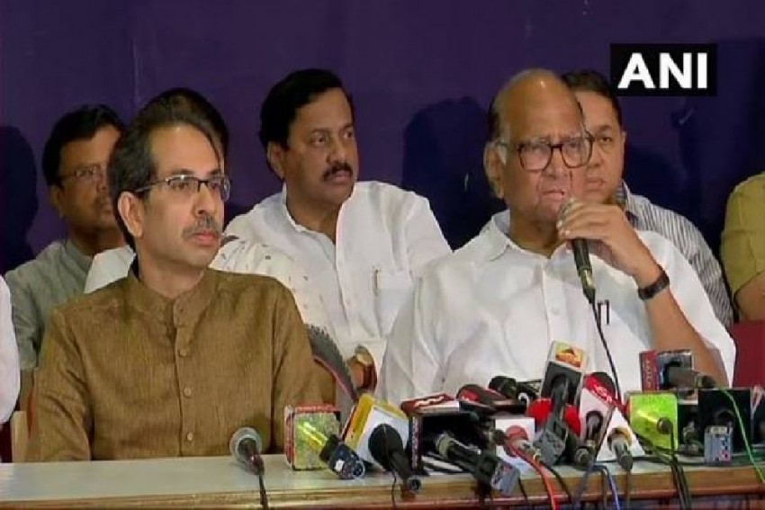 Shiv Sena-NCP-Congress Stake Claim To Form Maharashtra Govt, Say 162 MLAs Back Them