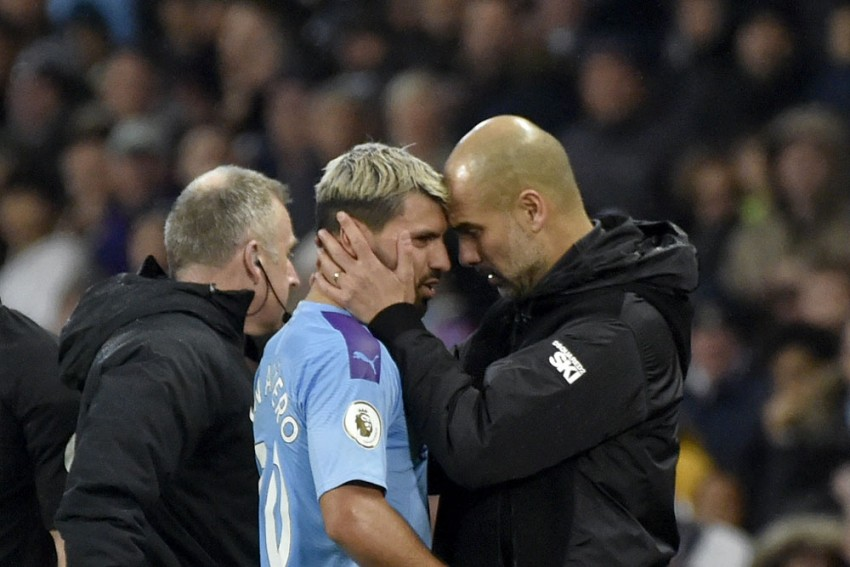 Sergio Aguero Out For 'A Few Games' And Will Miss Manchester Derby