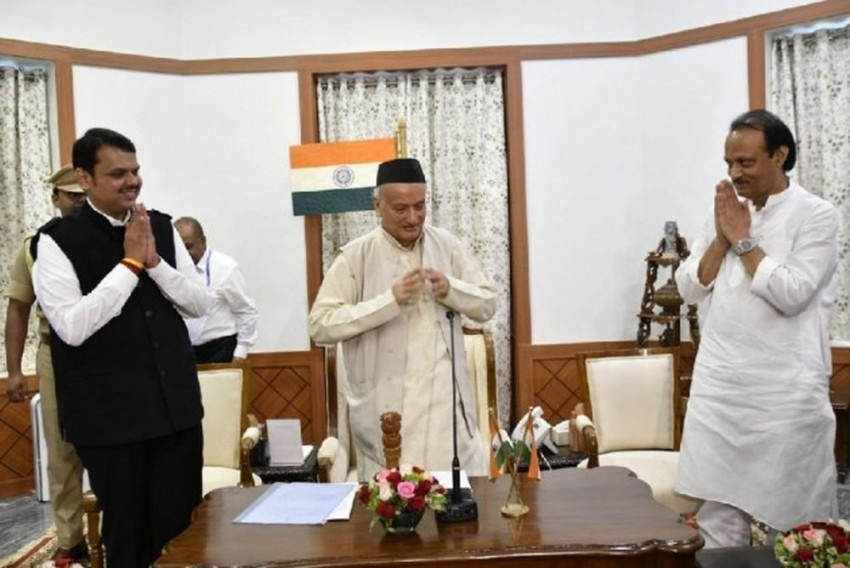 Fadnavis Quits As CM After Ajit Pawar's Resignation, Admits He Has No Majority
