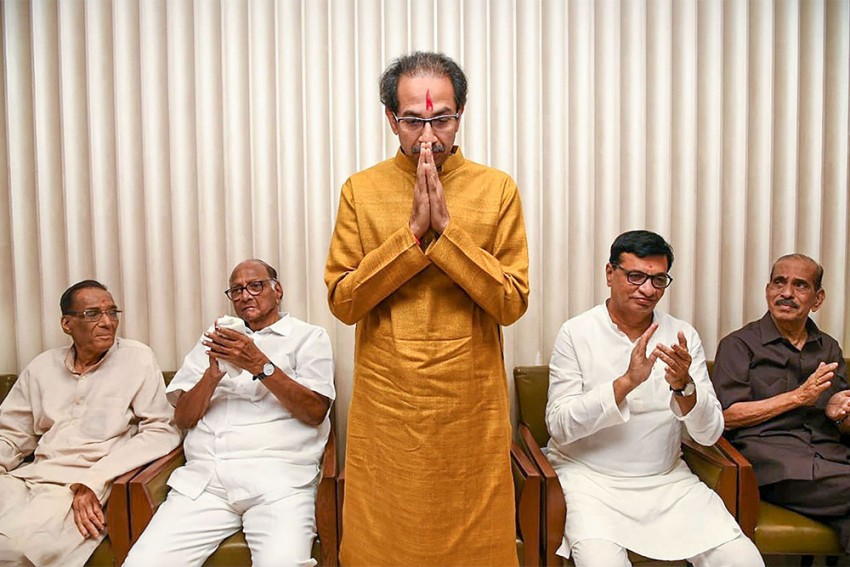 Uddhav Thackeray Chosen By NCP-Congress-Shiv Sena Alliance To Be Maharashtra CM