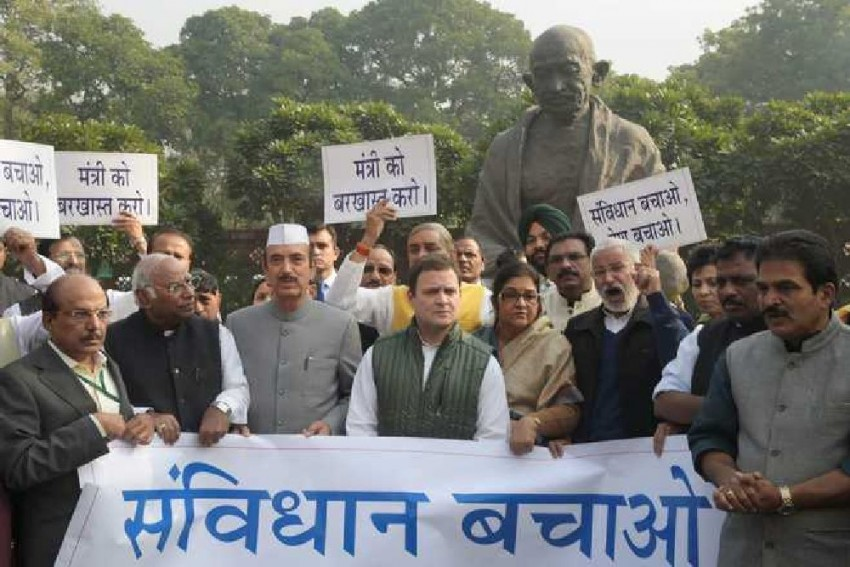Opposition Lashes Out At BJP, Accuses It Of Not Upholding Constitutional Principles