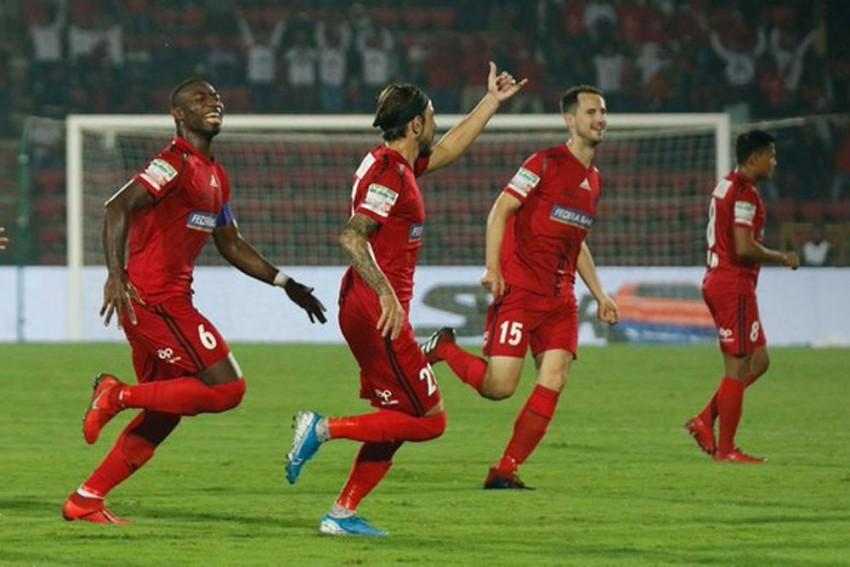 ISL 2019-20, Match 25: Amine Chermiti Double Fails To Secure Win As Mumbai City Share Spoils With NorthEast United