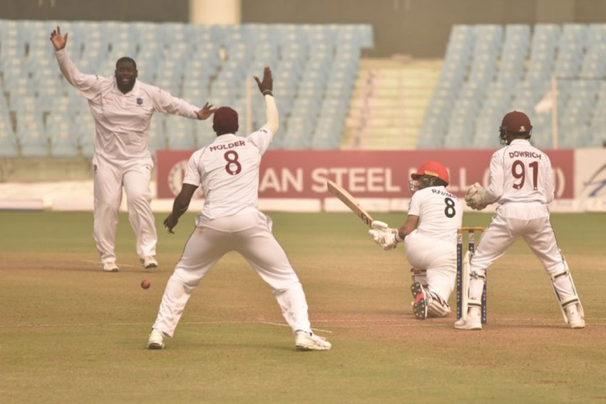 AFG Vs WI, One-Off Test: Rahkeem Cornwall Registers Best Bowling Figues In India This Year