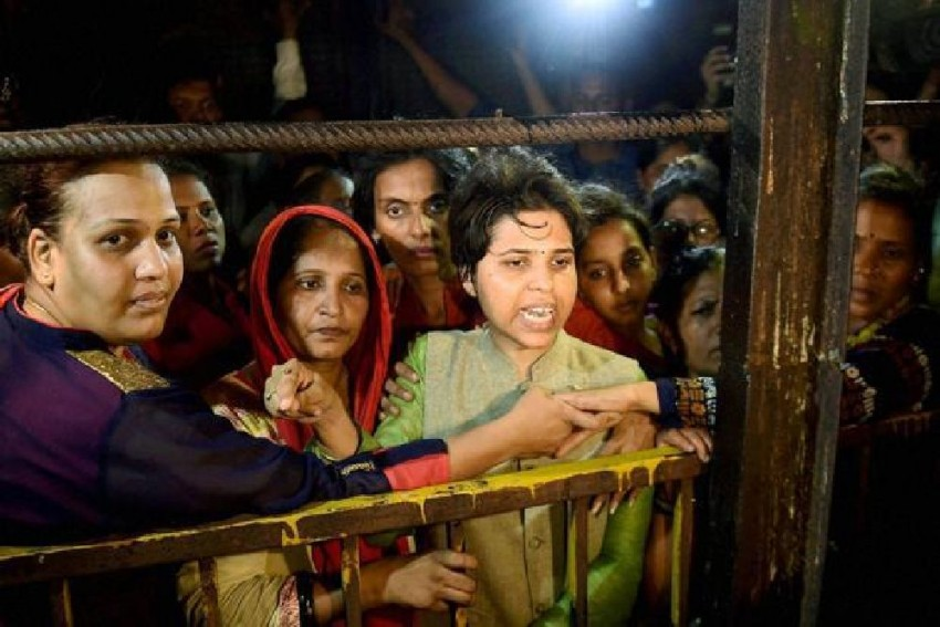 After Pepper Spray Attack On Fellow Activist, Trupti Desai Cancels Sabarimala Visit