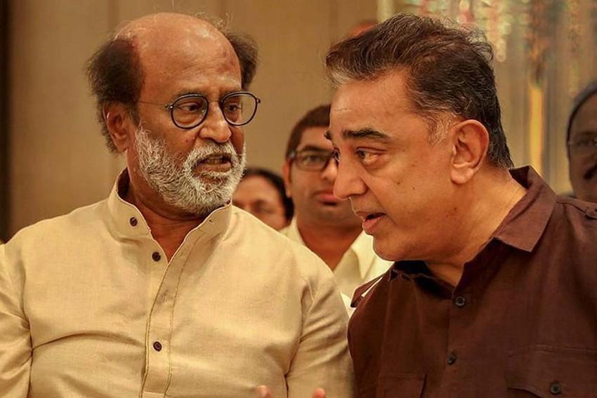 Rajinikanth-Kamal Haasan Likely Political Alliance Leaves AIADMK, DMK On Tenterhooks