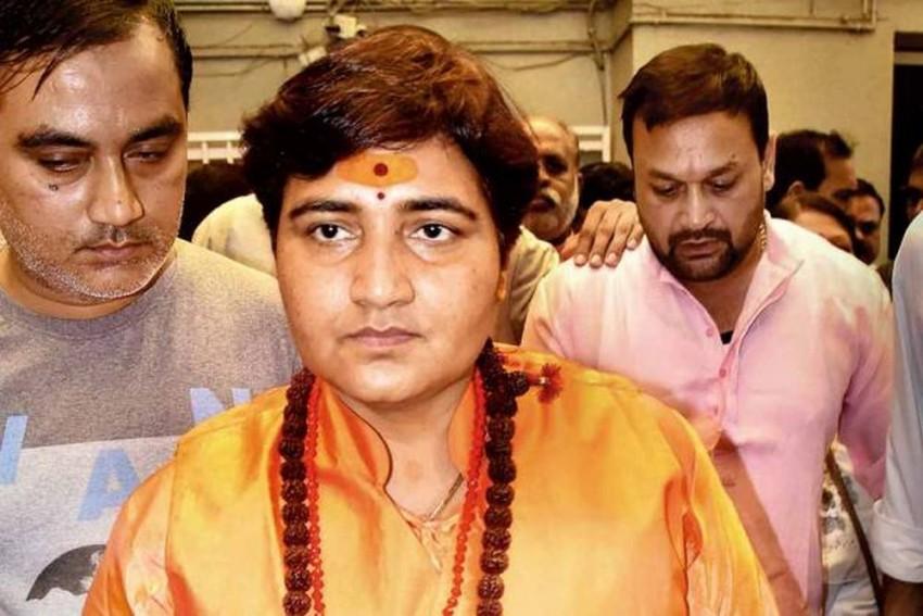 BJP's Pragya Thakur Refers To Nathuram Godse As '<em>Deshbhakt</em>' Again, This Time In Parliament