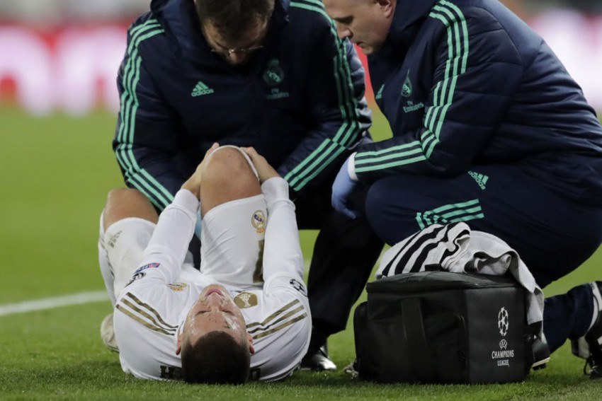 Real Madrid Receive Eden Hazard Injury Boost As Clasico Absence Looks Unlikely