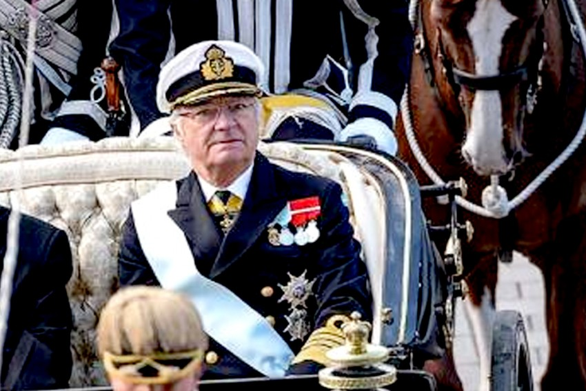 King and Queen of Sweden on Six-day Visit to India From Sunday