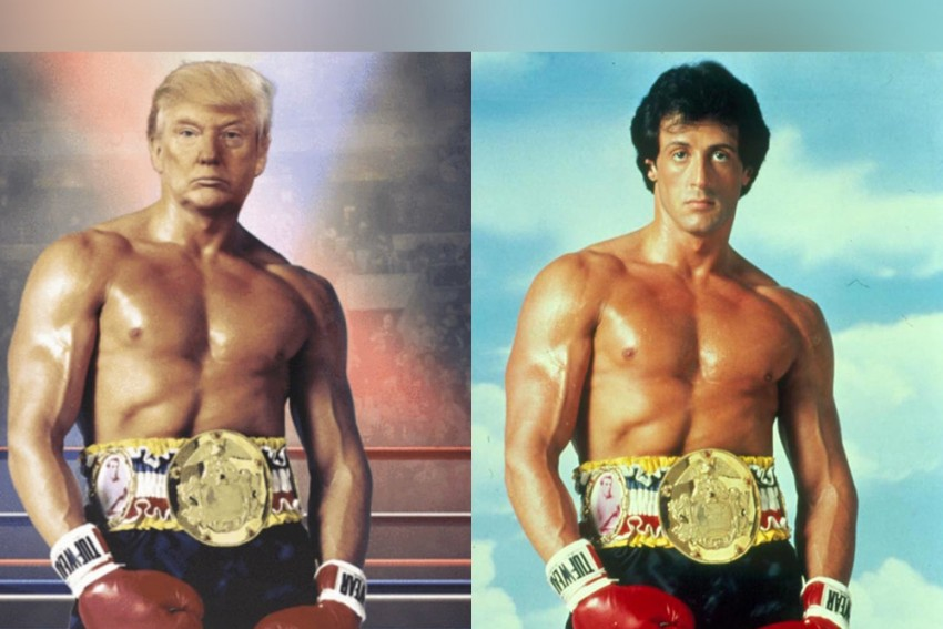 Donald Trump Posts Photo With His Face On Rocky's Muscular Body, Sends Twitter Into Laugh Riot