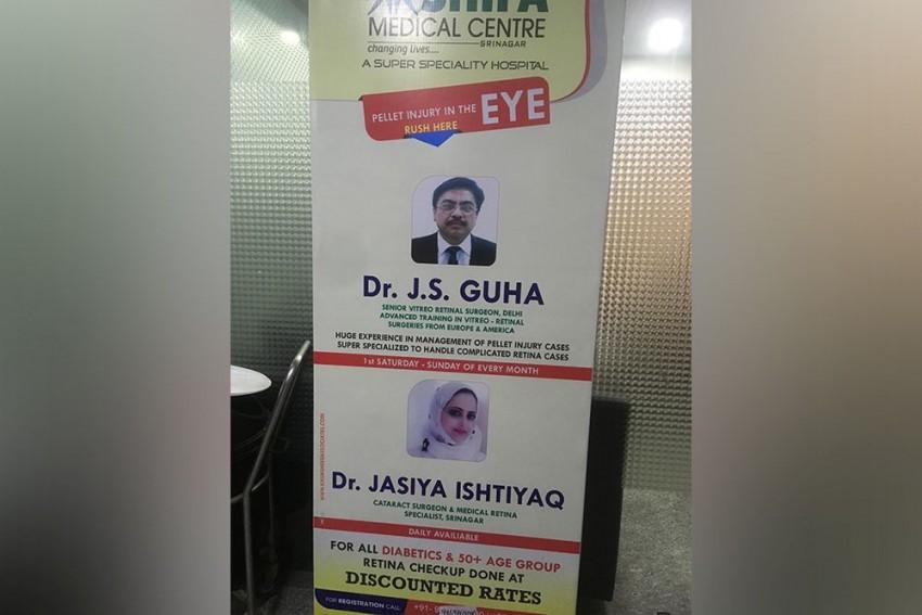 'Hit By Pellet In Eye?': In Kashmir, Advertisements By Doctors Attract Pellet-Blinds