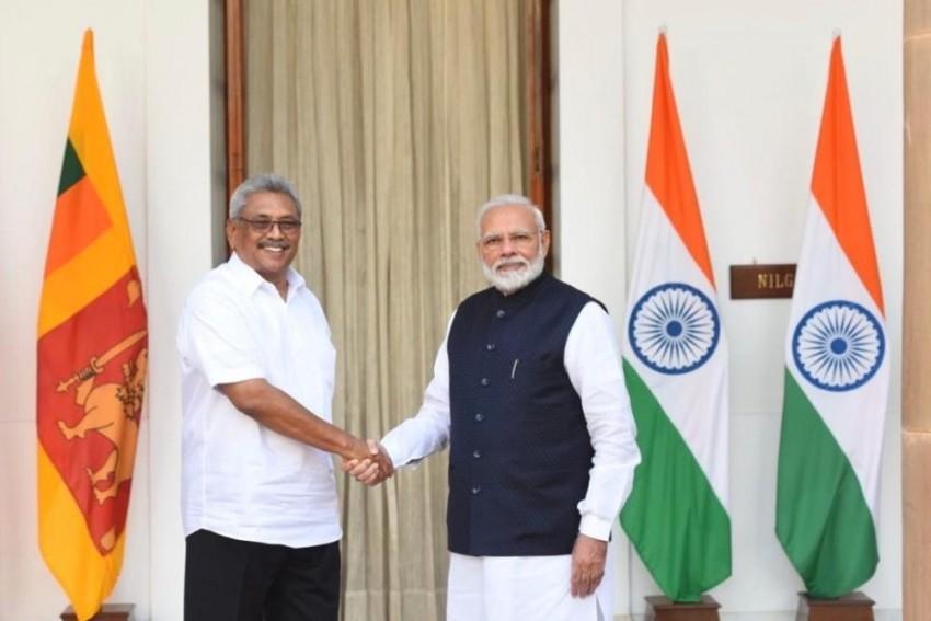 PM Modi Announces $450 Million Line Of Credit To Sri Lanka After Meeting With Rajapaksa