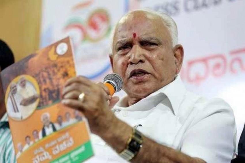 Karnataka Bypolls: EC Files FIR Against Yedyurappa Over Speech Made On 'Caste Lines'
