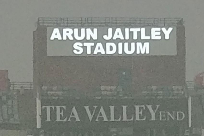 India Vs Bangladesh T20: Delhi's Air Pollution Keeps Corporate Boxes At Kotla Empty