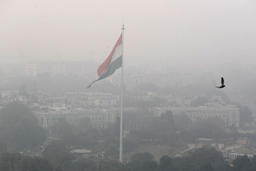 IND Vs BAN, 1st T20I: Light Rain Compounds Pollution Woes, Visibility Gets Worse Ahead Of Series Opener In Delhi
