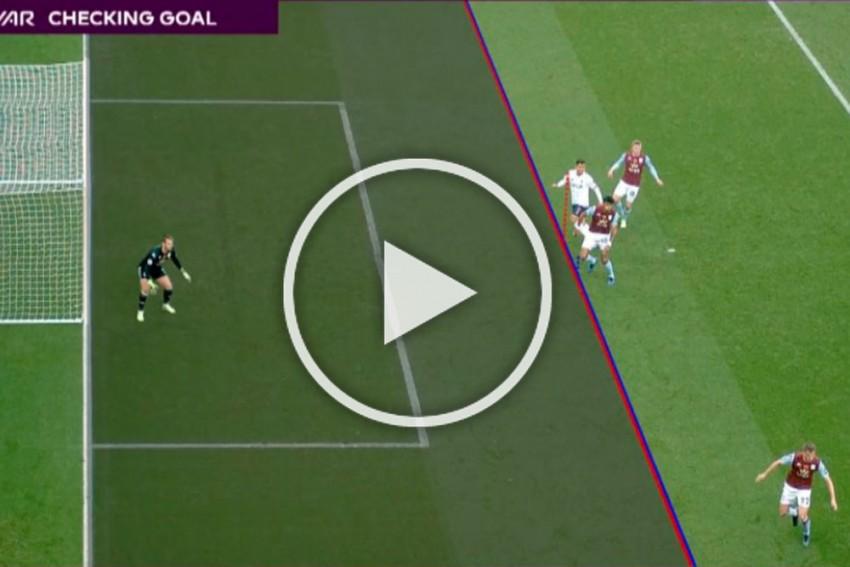 EPL: Armpit Offside? Fans Slam 'Disgraceful' VAR Decision To Disallow Roberto Firmino Goal - WATCH
