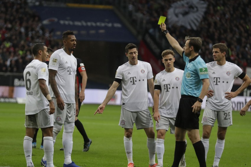 Eintracht Frankfurt 5-1 Bayern Munich: Jerome Boateng Red Proves Costly As Pressure Grows On Niko Kovac