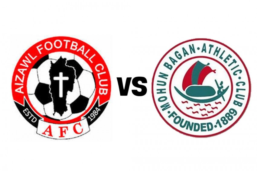 I-League 2019-20, Aizawl FC 0-0 Mohun Bagan Highlights: Former Champions Play Out Goalless Draw