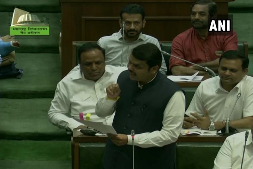 Maharashtra Floor Test: Fadnavis Questions Change In Pro Tem Speaker, BJP Walks Out