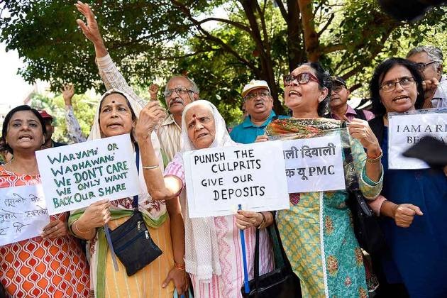 'Is Our Money Safe?': PMC Depositors Demand Written Assurance From RBI, Govt As Protest Enters 41st Day