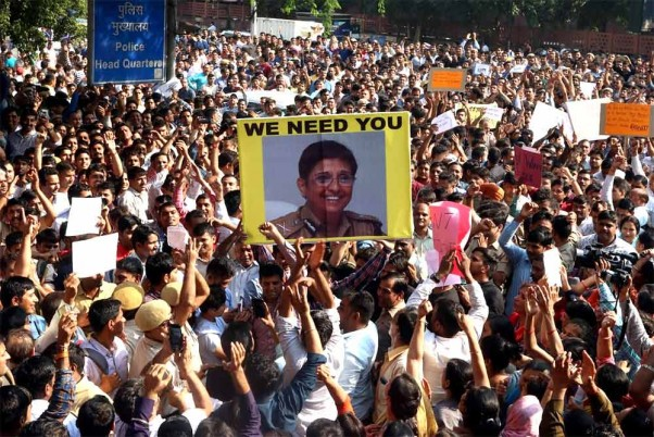 'They Need To Be Protected By Their Seniors': Kiran Bedi On Delhi Cops' Protest