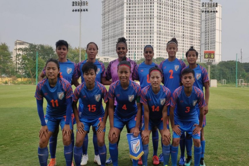 India Women's Football Team Holds Vietnam To Draw In FIFA Friendly