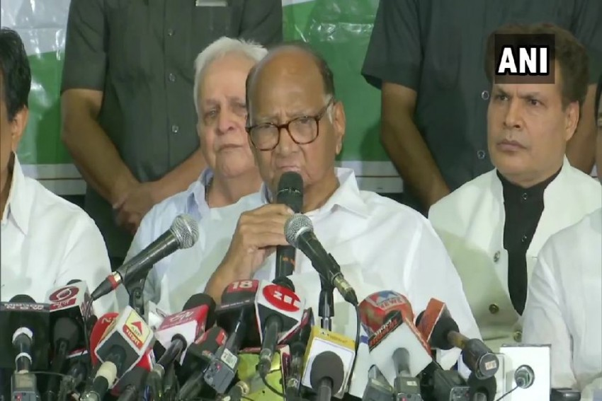 'There Is Constitutional Crisis In Maharashtra': NCP Chief Sharad Pawar