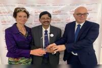 Outlook Poshan Knowledge Partner, Basanta Kumar Kar, Receives The Prestigious Nutrition Leadership Award 2019