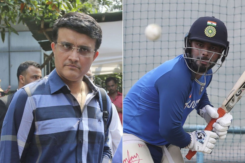 BCCI President Sourav Ganguly Comes To The Rescue Of Woeful Rishabh Pant