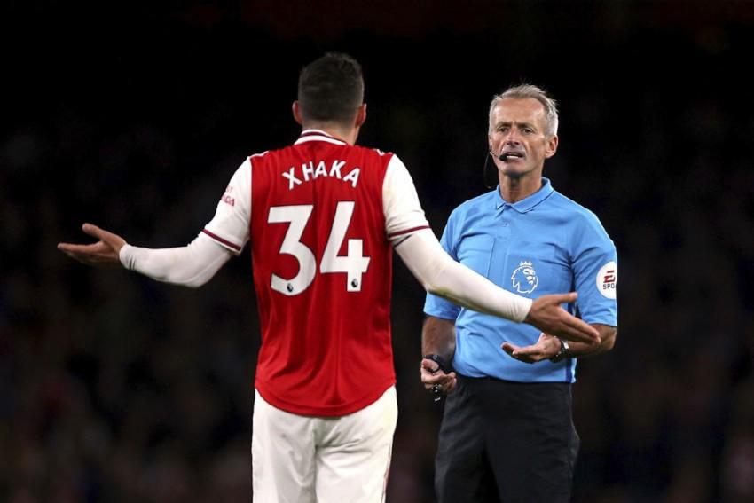 Unai Emery Unsure If Granit Xhaka Will Play For Arsenal Again
