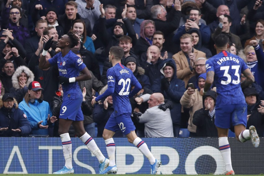 Chelsea 2-0 Crystal Palace: Tammy Abraham Reaches 10 EPL Goals As Frank Lampard's Blues Go Second