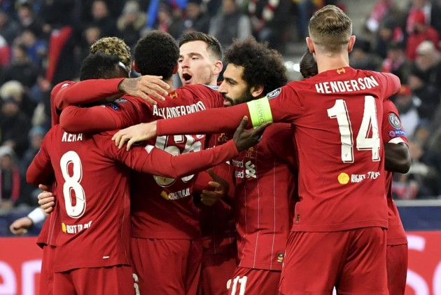 Ucl Salzburg 0 2 Liverpool Naby Keita Mohamed Salah See Reds Through In Thrilling Clash