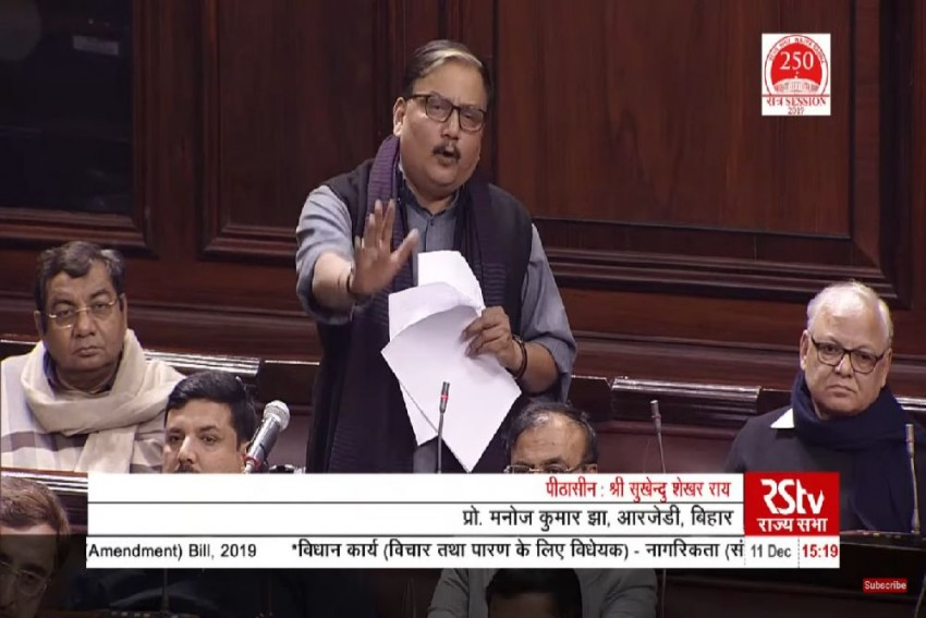At Condolence Meet In Heaven, Jinnah Would Have Taunted Gandhiji Today: RJD's Manoj Jha On CAB