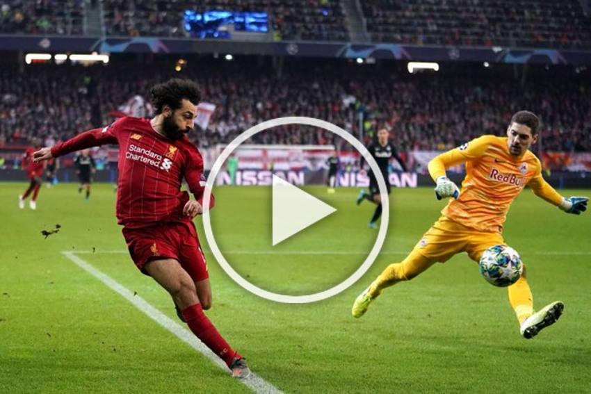 Champions League: Liverpool Boss Jurgen Klopp Has 'No Idea' About This Mohamed Salah Outrageous Goal - WATCH