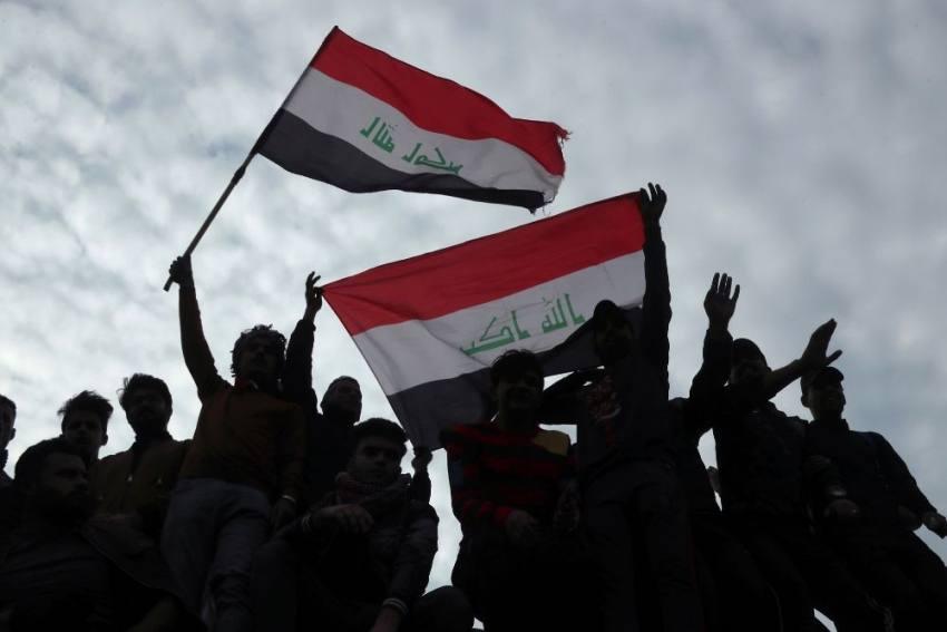 Iraq Protesters Create 'Mini-State' In Baghdad's Tahrir Square