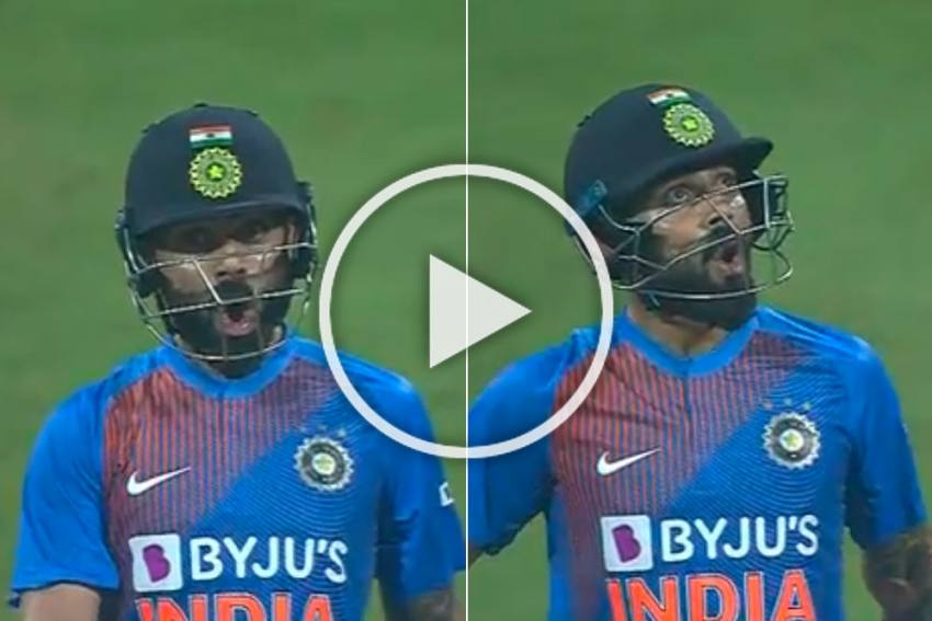 IND Vs WI, 3rd T20I: What I've Done? Virat Kohli Makes Fun Of Kesrick Williams With Epic Celebration - WATCH