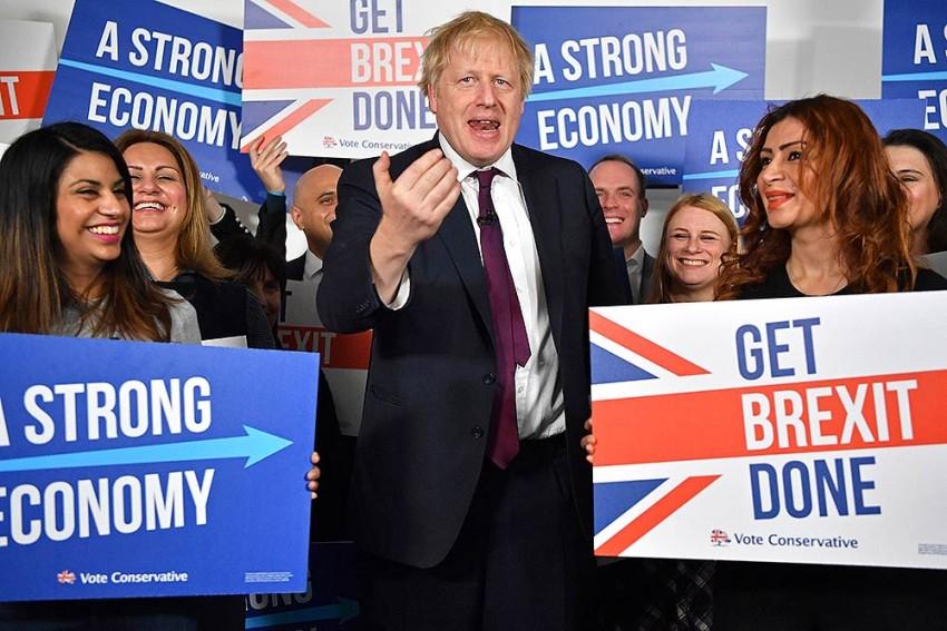 British Prime Minister Boris Johnson Wins Majority In General Election