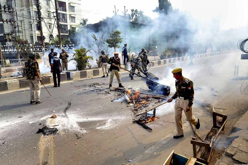 Anti-Citizenship Act Protests: Northeast Remains On Edge; Violent Scenes In National Capital And Bengal