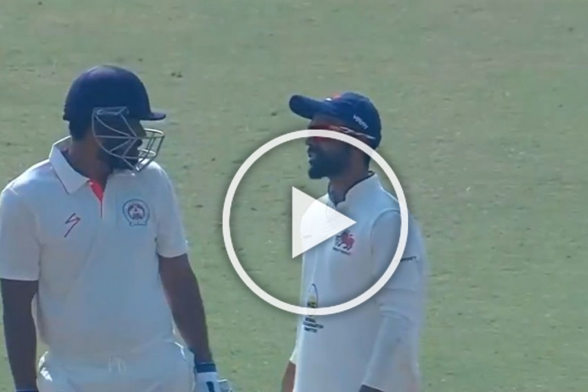 Ranji Trophy: Baroda's Yusuf Pathan Refuses To Walk Off After Umpire Rules Him Out Vs Mumbai – WATCH
