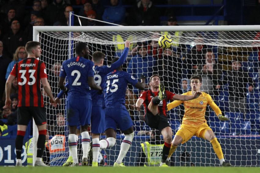 EPL | Chelsea 0-1 Bournemouth: Late Dan Gosling Strike Downs Frank Lampard's Men
