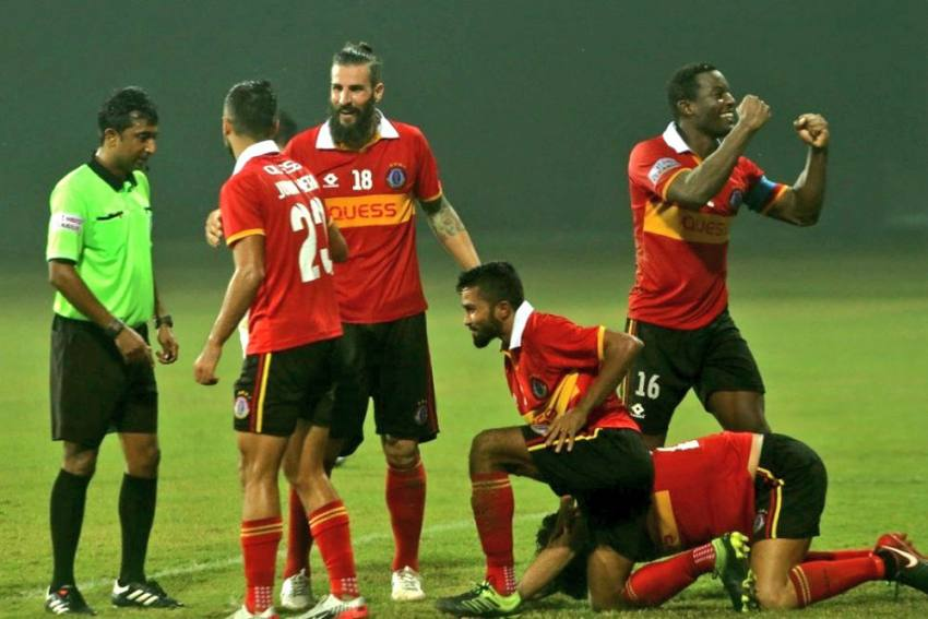 I-League: Marti Crespi Last-Gasp Goal Helps East Bengal Beat TRAU 2-1, Jump To Top Of Table