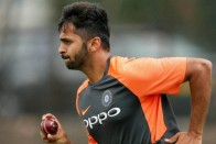 India Vs West Indies, ODI Series: Shardul Thakur Replaces Bhuvneshwar Kumar