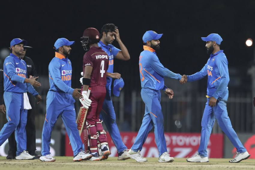 IND Vs WI, 1st ODI Highlights: Shimron Hetmyer, Shai Hope Star As West Indies Thrash India By Eight Wickets