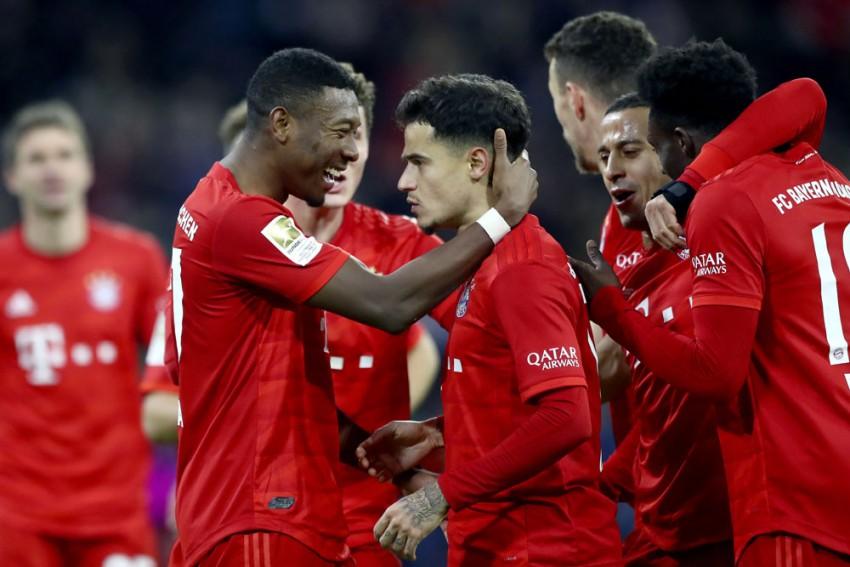 Bundesliga | Bayern Munich 6-1 Werder Bremen: Hat-trick Hero Philippe Coutinho Gets Champions Back On Track