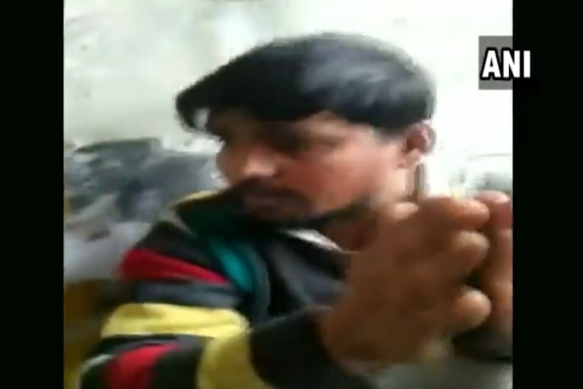 In A Viral Video, Goons Thrash Man Allegedly For Selling 'Biryani' In Noida